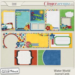 Retiring Soon - Water World  - Journal Cards