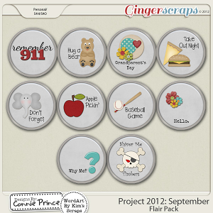 Retiring Soon - Project 2012:  September -  Flair Pack