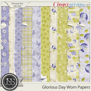 Glorious Day Worn Papers Pack