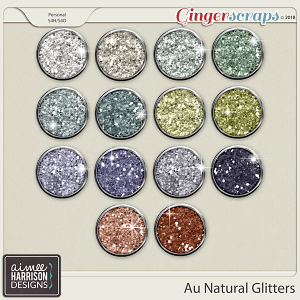 Au Natural Glitters by Aimee Harrison