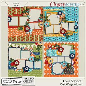 Retiring Soon - I Love School - QuickPage Album