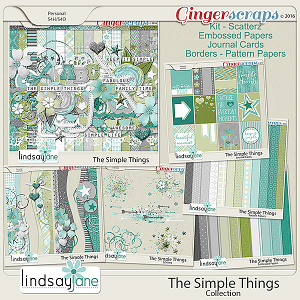 The Simple Things Collection by Lindsay Jane