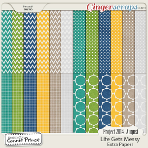 Project 2014 August: Life Gets Messy - Extra Papers