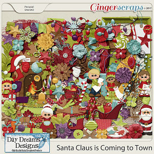 Santa Claus is Coming to Town {Elements} by Day Dreams 'n Designs