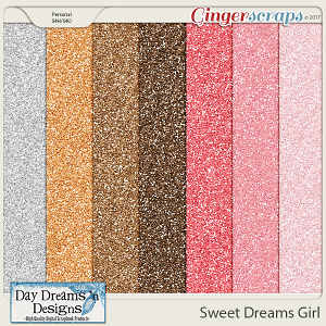 Sweet Dreams Girl {Glitters} by Day Dreams 'n Designs