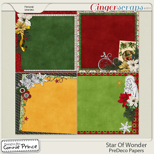 Star Of Wonder - PreDeco Papers