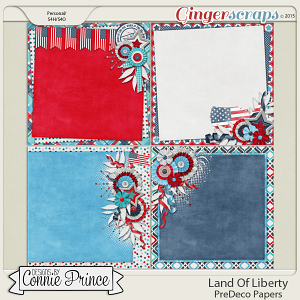 Land Of Liberty - PreDeco Papers