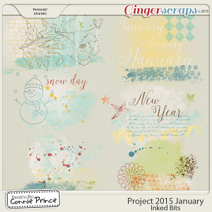 Project 2015 January - Inked Bits
