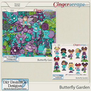 Butterfly Garden {Bundle Collection} by Day Dreams 'n Designs