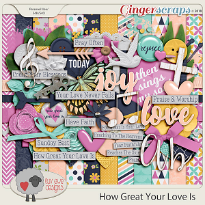 How Great Your Love Is by Luv Ewe Designs