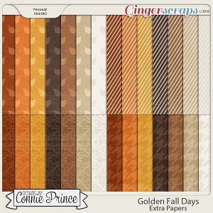 Golden Fall Days - Extra Papers