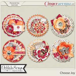 Choose Joy Cluster Seals
