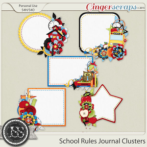 School Rules Journal Clusters