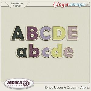 Once Upon A Dream - Alpha by Aprilisa Designs