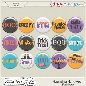 Retiring Soon - Haunting Halloween - Flair Pack