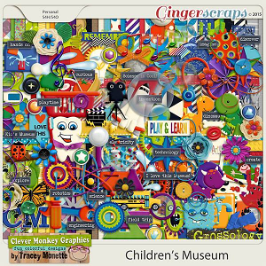 Children's Museum by Clever Monkey Graphics