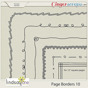 Page Borders 10 by Lindsay Jane