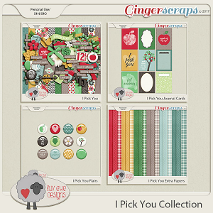 I Pick You Collection by Luv Ewe Designs