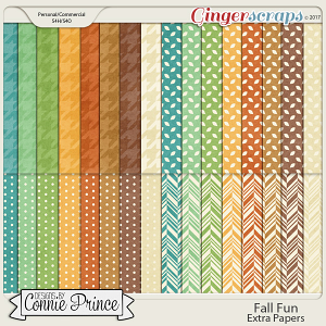 Fall Fun - Extra Papers