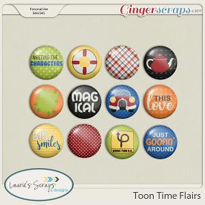 Toon Time Flairs
