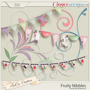 Fruity Nibbles Swirly Bits and Bunting