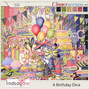 A Birthday Diva by Lindsay Jane