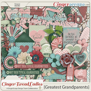 GingerBread Ladies Collab: Greatest Grandparents