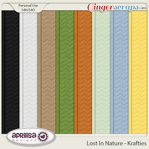 Lost In Nature - Krafties by Aprilisa Designs