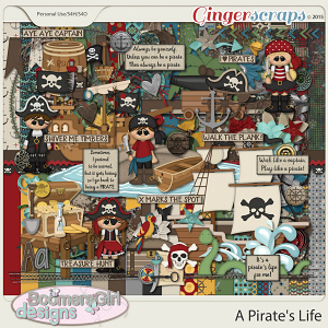 A Pirate's Life by BoomersGirl Designs