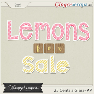 25 Cents a Glass- Alpha
