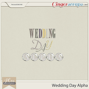 Wedding Day Alphas by JoCee Designs