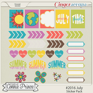 #2016 July - Sticker Pack