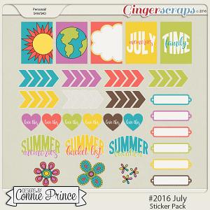 #2016 July - Sticker Pack