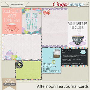 Afternoon Tea Cards
