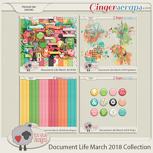 Document Life March 2018 Collection by Luv Ewe Designs