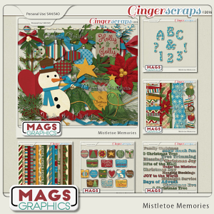 Mistletoe Memories BUNDLE by MagsGraphics