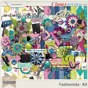 Fashionista Kit by JoCee Designs