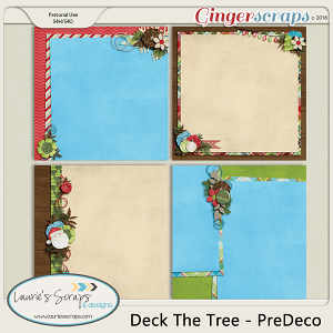 Deck The Tree - PreDeco Papers