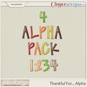 Thankful For... Alpha