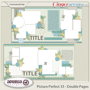 Picture Perfect 33 - Double Pages