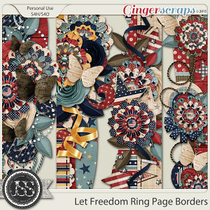 Let Freedom Ring Page Borders