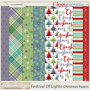 Festival Of Lights Christmas Papers