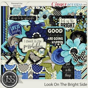 Look On The Bright Side Digital Scrapbooking Kit