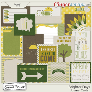 Retiring Soon - Brighter Days - Journal Cards