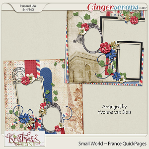 Small World ~ France QuickPages