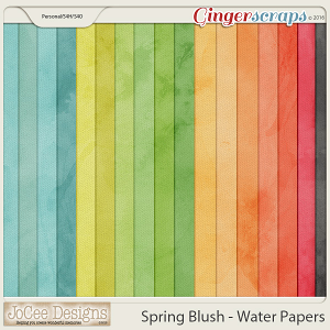 Spring Blush - Water Papers