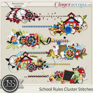 School Rules Cluster Stitches