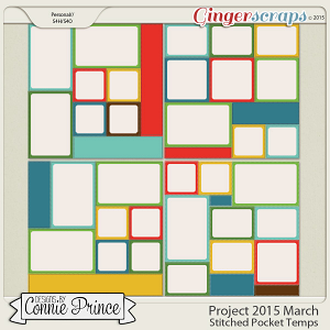 Project 2015 March - Stitched Pocket Templates