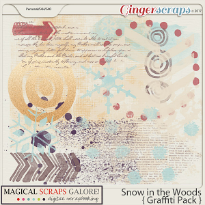 Snow in the Woods (graffiti pack)