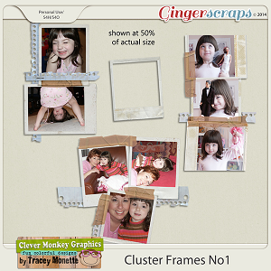Cluster Frames No1 by Clever Monkey Graphics